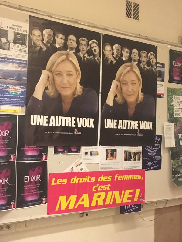 Front National Femme Au Foyer : La place des femmes au front national docu débat